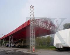 鋁合金桁架 TRUSS架 現場搭建昇降桁架 活動慶典演出舞臺