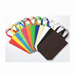無紡布袋定製 覆膜折疊手提袋現貨 廣告創意袋子定做印logo