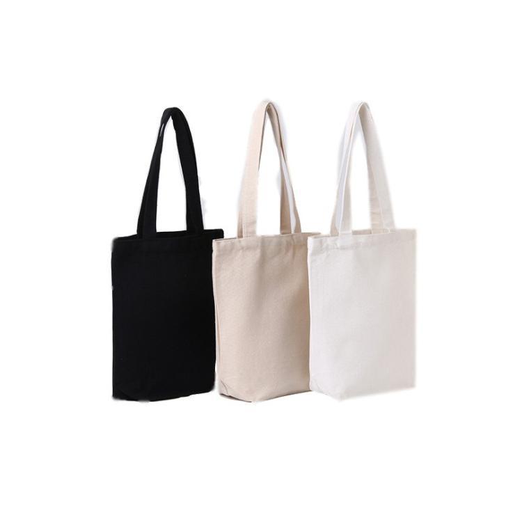 空白帆布袋定做雙抽繩束口棉麻包手提購物袋定製logo 1