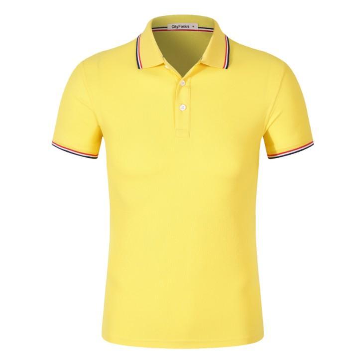 鑲邊翻領衫廣告文化衫定製logo 1