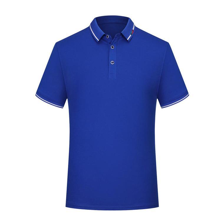 蚕丝光棉文化衫定制短袖工作服定做广告衫企业LOGO刺绣工衣 1