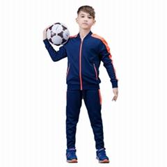 秋冬款拉鍊運動服 休閑跑步套裝籃球足球訓練服