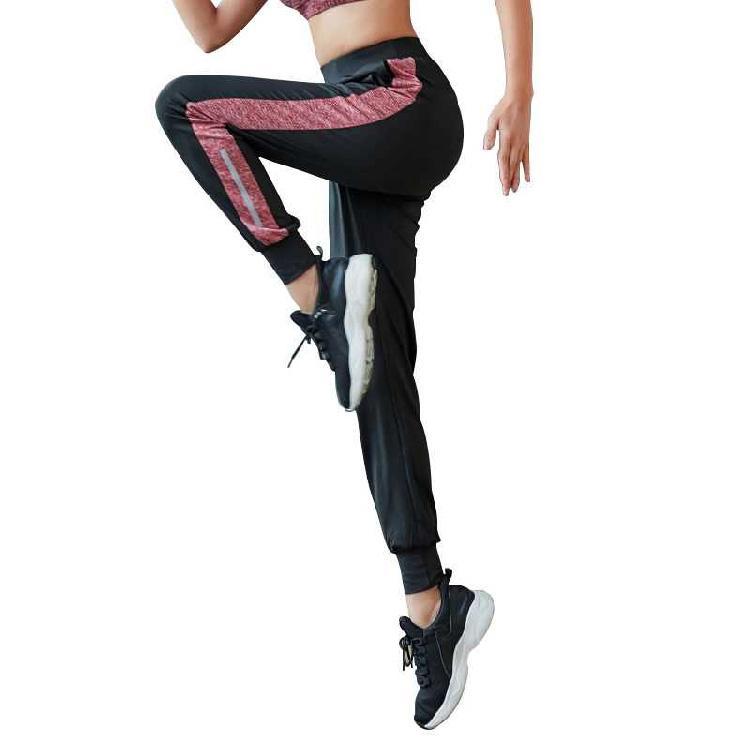 瑜伽褲女運動長褲寬鬆健身跑步長褲鬆緊腰哈倫褲 1