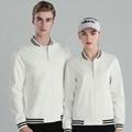 韓版少男女加厚加絨棒球工作服班服定製印LOGO廣告衫衛衣 1