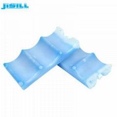 HDPE Hard Shell Breast Milk Ice Pack Wave Shape 450Ml High Density Polyethylene