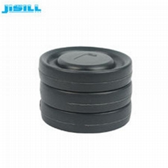 Portable Round Custom Gel Can Cooler Holder with Environment HDPE Materials