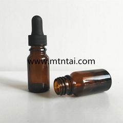 10ml amber color essential oil bottles