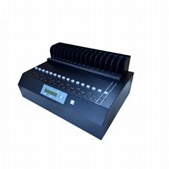 硬盘拷贝机批量复制克隆机1拖15-SATA协议机械盘、固态盘全兼容