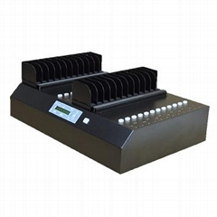 硬盘拷贝机批量复制克隆机1拖23-SATA协议机械盘、固态盘全兼容