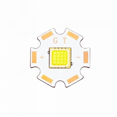 Getian FC60 New Product 12-14V 40w LED Chip with 20*20mm Heatsink pcb board