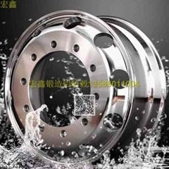 宏鑫公交车轻量化节能环保锻造铝轮圈