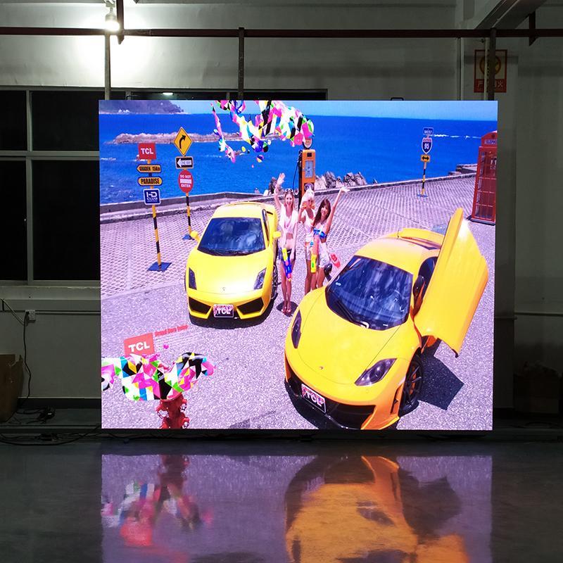 晶輝LED顯示屏P3.91高清室內全彩廣告大屏壓鑄鋁箱體 1
