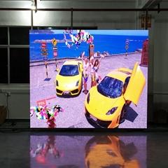 晶輝LED顯示屏P3.91高清室內全彩廣告大屏壓鑄鋁箱體