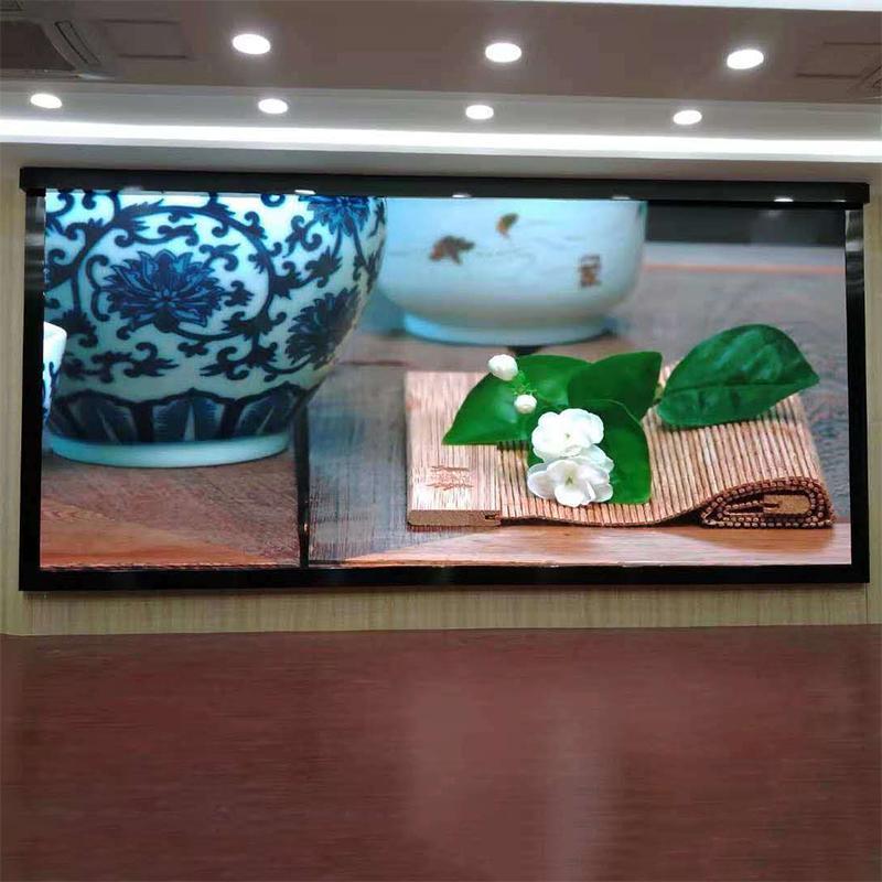 晶輝LED顯示屏P3.91高清室內全彩廣告大屏壓鑄鋁箱體 4