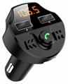T66S Hands free FM transmitter Wireless FM Modulator Dual USB charger Wireless B