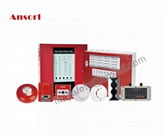 Ansorl conventional fire detection control alarm panel