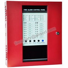 Wired system conventional fire alarm control system