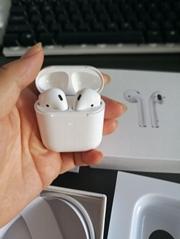 AirPods二代蓝色耳机