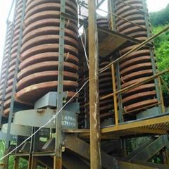 廠家重力分選玻璃鋼螺旋溜槽 5LL-1200溜槽石城生產