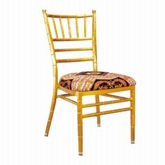 Rental wholesale luxury chateau aluminium tiffany chiavari chairs with cushion