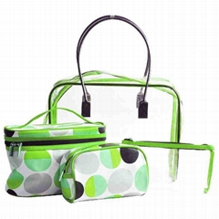 PVC Cosmetic Bag (KM-COB0056) Make up Bag Toiletry Bag