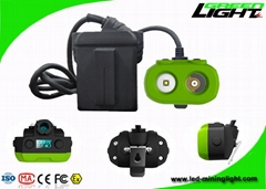 Mining rechargeable cap lamps coal use high Ip rating with RFID tracking technol