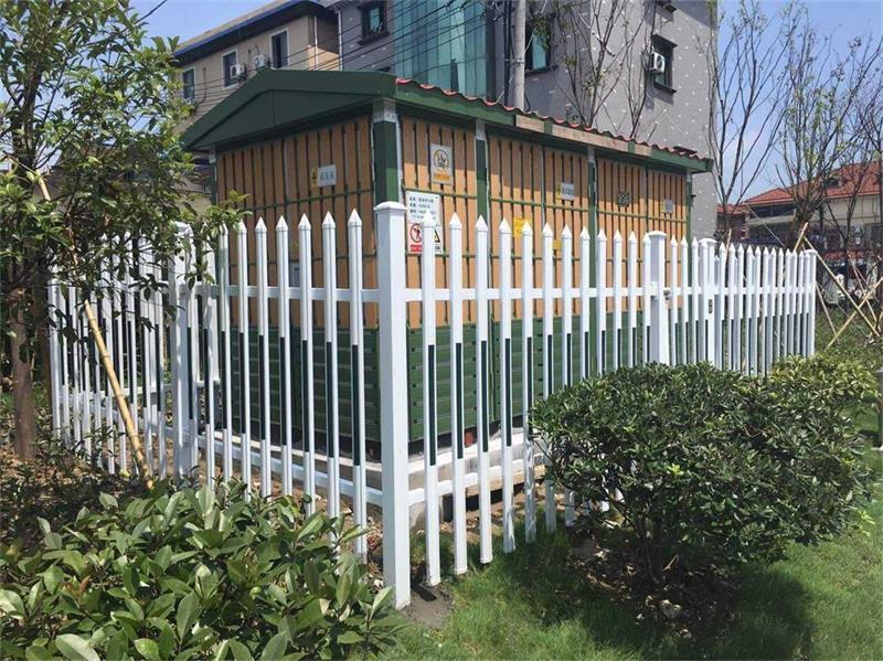 定制锌钢护栏铁艺围墙铁栅栏小区铁艺围栏学校围墙护栏热镀锌护栏 1