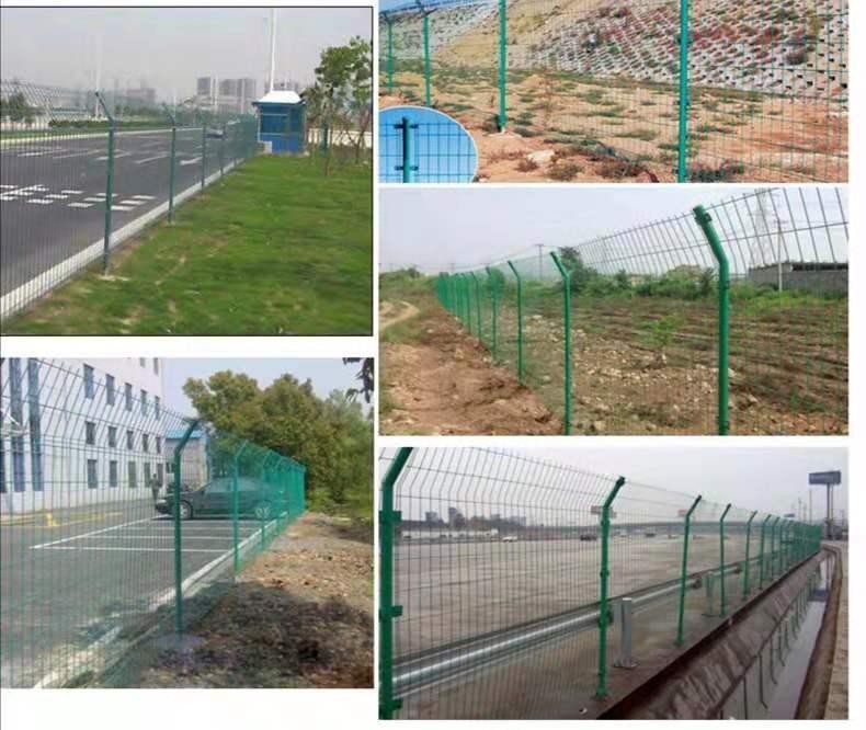 高速公路双边丝护栏网铁丝网养殖围栏鸡网车间隔离圈地钢丝荷兰网 2