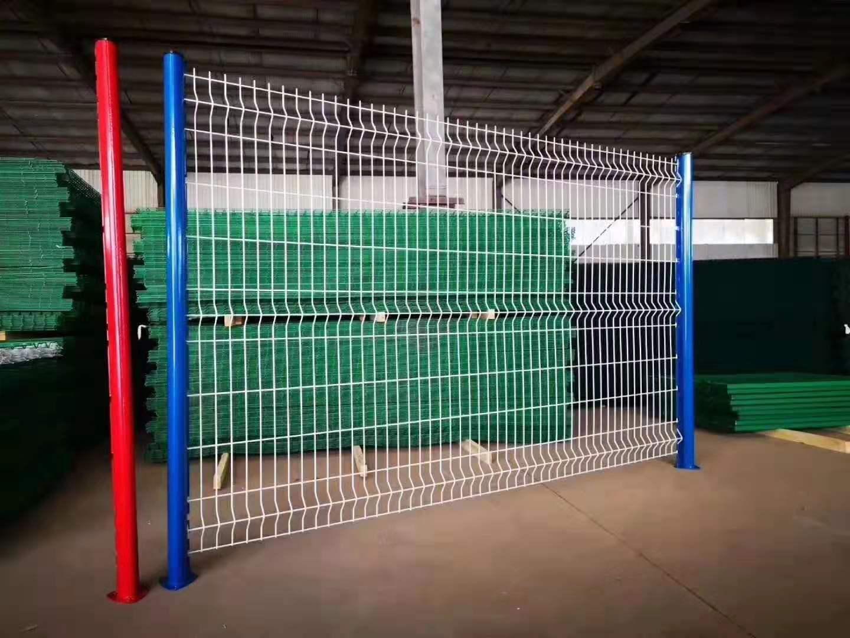 高速公路双边丝护栏网铁丝网养殖围栏鸡网车间隔离圈地钢丝荷兰网 4