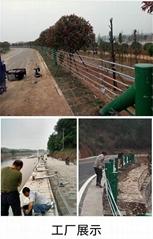山路缆索护栏河道桥梁景观山区五索六索钢丝绳索柔性防撞护栏