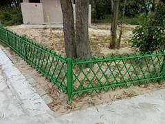 美丽乡村不锈钢仿竹护栏公园景点街道围栏杆新农村生态园篱笆栅栏