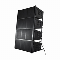 "Dual 12"" Line Array Speaker"