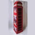 British Telephone Booth Wine Cabinet Retro Style Bar Wine Cabinet 4