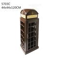 British Telephone Booth Wine Cabinet Retro Style Bar Wine Cabinet 5