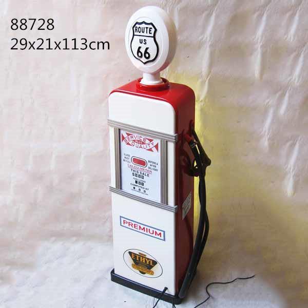 Gas Pump Storage Cabinet With Light Illuminated Lockable Display Cabinet 1