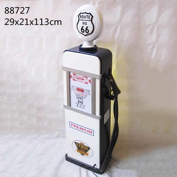 Gas Pump Storage Cabinet With Light Illuminated Lockable Display Cabinet 2