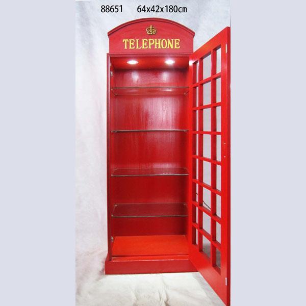 Gas Pump Storage Cabinet With Light Illuminated Lockable Display Cabinet 4