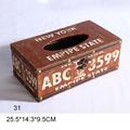 Creative Wooden Tissue Toilet Paper Holder Stand 3