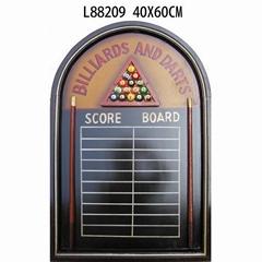 Dart Board Set And Scoring Board