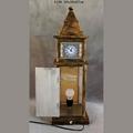 Big Ben Clock Tower Shaped Wooden Light Box With Clock Table Lamp Night Light 1