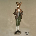 Animal Doll Antique Resin Statue For Home Store Window Decorations 5