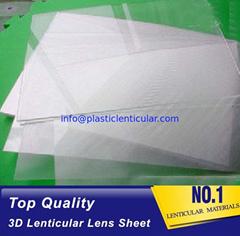 70 LPI 3D lenticular plastic sheets lenticular lamination film pet flip lenses