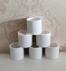 Slip Casting Alumina Ceramic Crucible with High Temperature