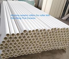 Industrial Alumina Ceramic Roller for Ceramic Tiles Kiln