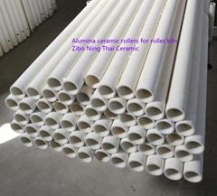 Alumina Ceramic Roller Used In Roller Kiln For Ceramic Tiles Production