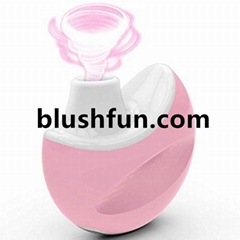 Blushfun Clitoral Pussy Breast Massage Sucking Vibrator Machine Sex Toy For Girl