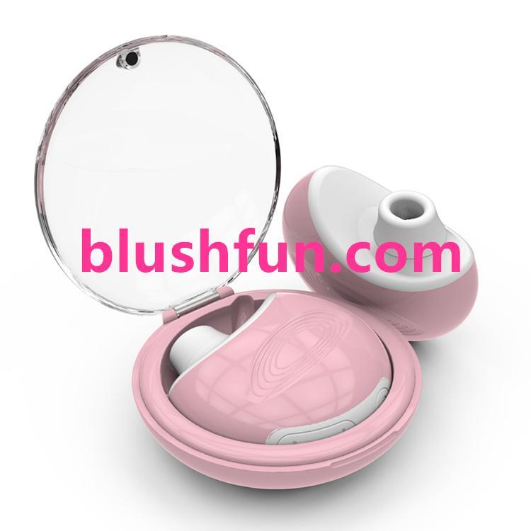 Blushfun masturbation breast nipple vibrator for women nipple sucker