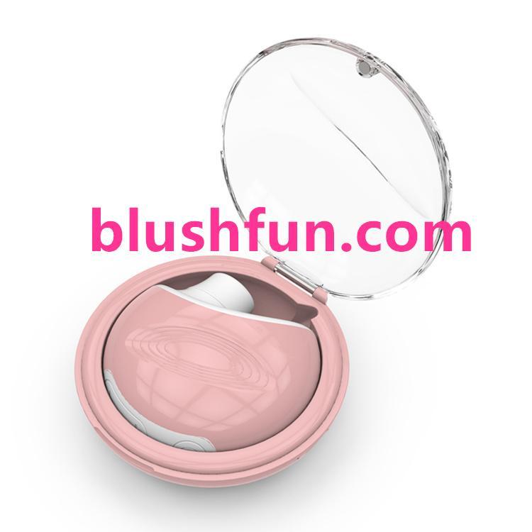 Blushfun masturbation breast nipple vibrator for women nipple sucker 4