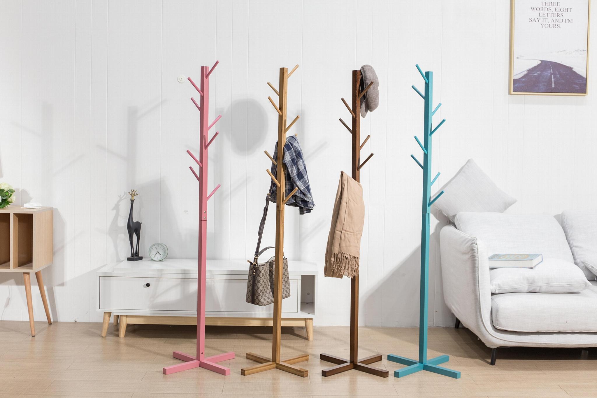 kaidi wooden coat rack
