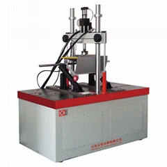 Dynamic and static fatigue testing machine  for steps and pallets of escalator a